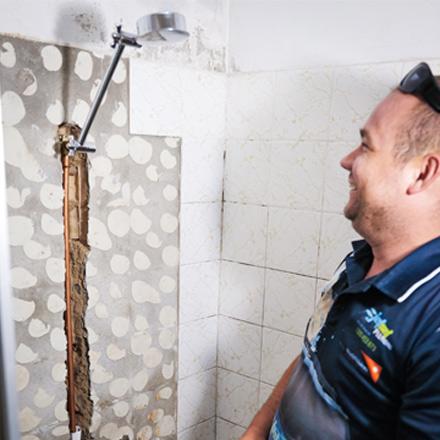 Leaking Shower Mermaid Waters